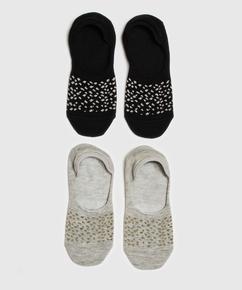 2 Pairs Of Socks, Svart