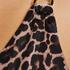 Leopard badedrakt, Beige
