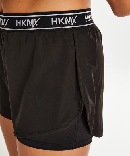 HKMX sportsshorts, Svart
