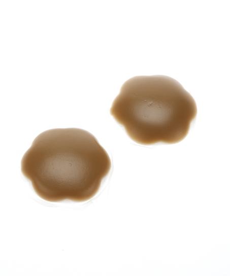 Brystvortedekkere av silikon, Brun