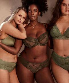 Rabella brasiliansk truse I AM Danielle, Grønn
