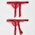 Strømpeholdere, Rød