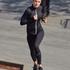 HKMX Run Baby Run tights med normal midje, Svart
