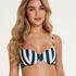 Santa Rosa polstret bikinitopp med spiler, Grønn