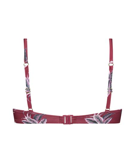 Tropic Glam foret bikinitopp med bøyle, Rød