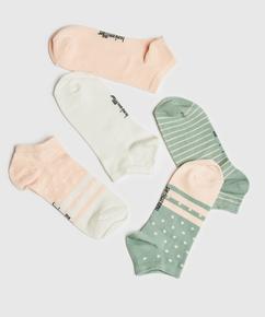 2 Pairs Of Socks, Hvit