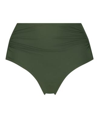 Luxe bikinibukse med høyt snitt, Grønn