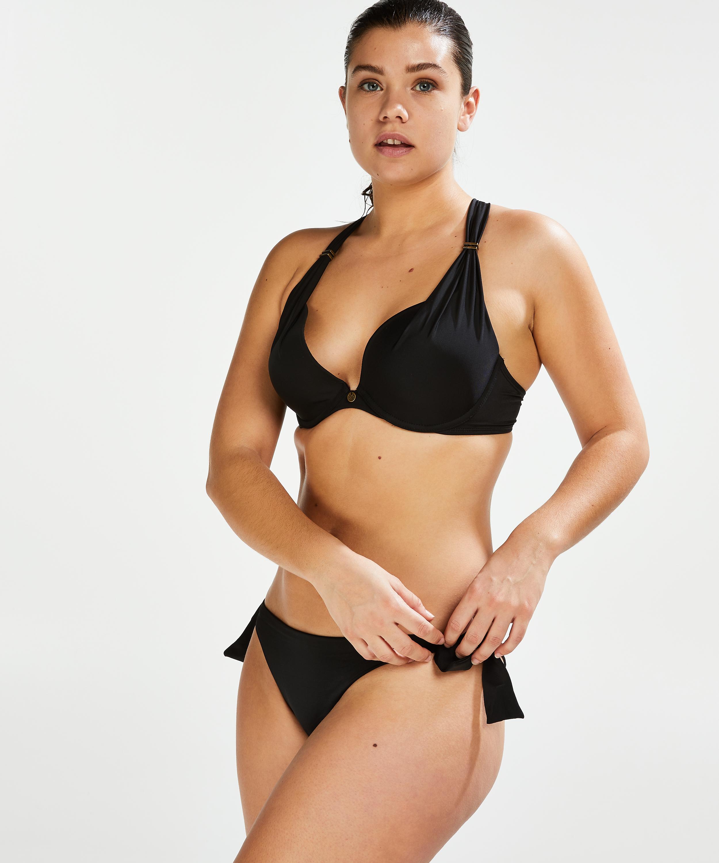 Sunset Dream brasiliansk bikininederdel, Svart, main