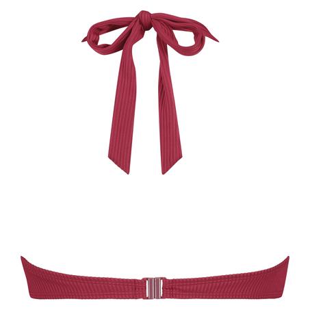 Golden Rings polstret bikinitopp med bøyler, Rød