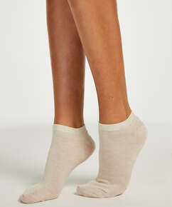 2 Pairs Of Socks, Beige