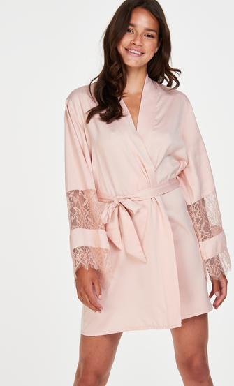 Kimono Bridal i sateng, Rosa