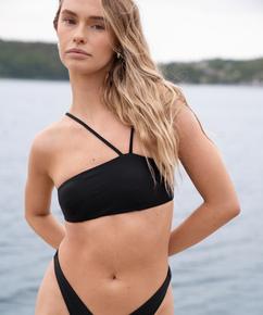 Bandeau bikinitopp HKM x NA-KD, Svart