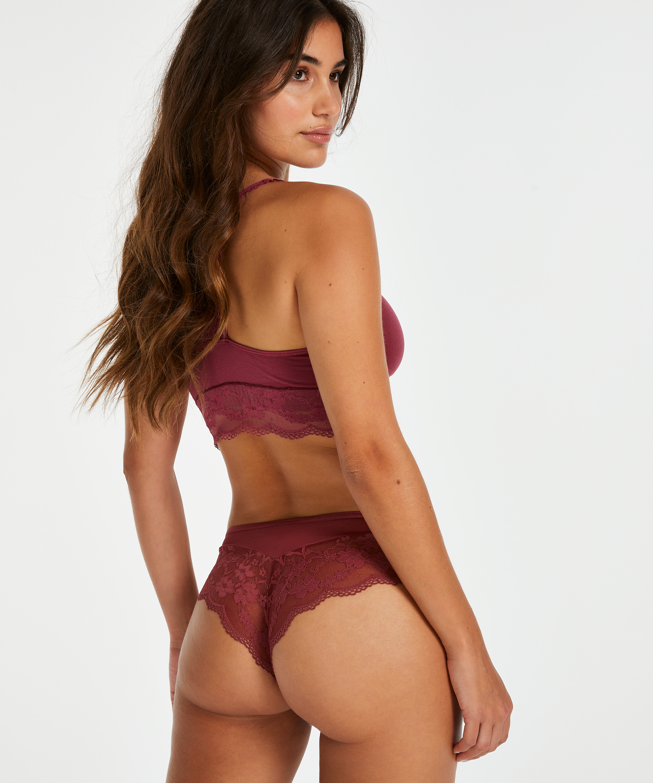 Abigail brasiliansk shorts, Rød, main