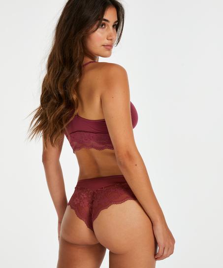 Abigail brasiliansk shorts, Rød