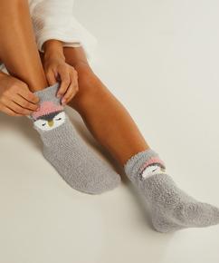2 par Cosy sokker Sara, Grå