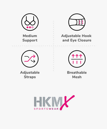 HKMX Sports-BH The All Star nivå 2, Hvit