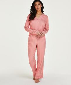 Tall Woven pysjamasbukse, Rosa