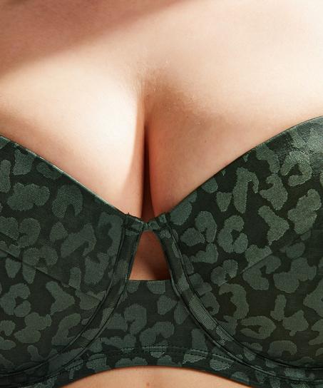 Tonal Leo foret bikinitopp med bøyle, skål E og større, Grønn
