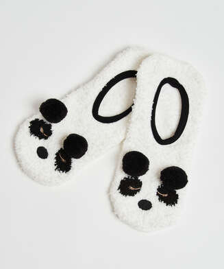 Panda tøfler, Gul