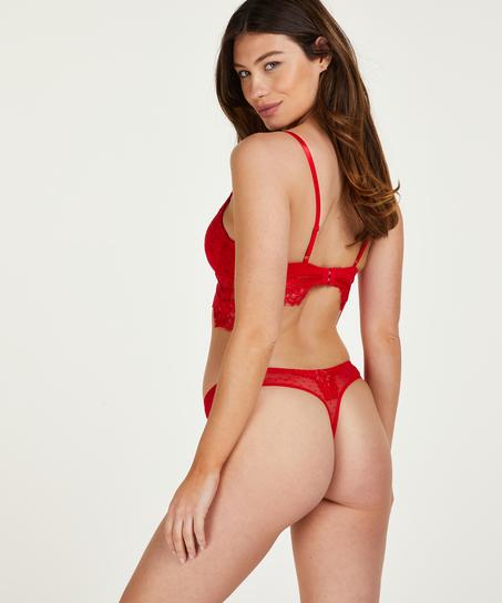 Marilee thong , Rød