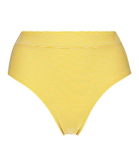 Carmel freidig høy bikiniunderdel, Gul