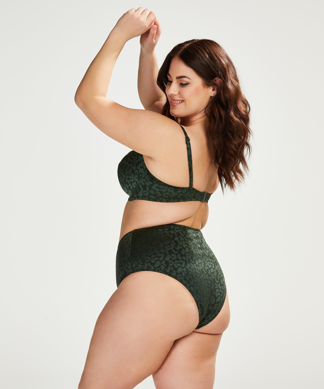 Tonal Leo foret bikinitopp med bøyle, skål E og større, Grønn, main