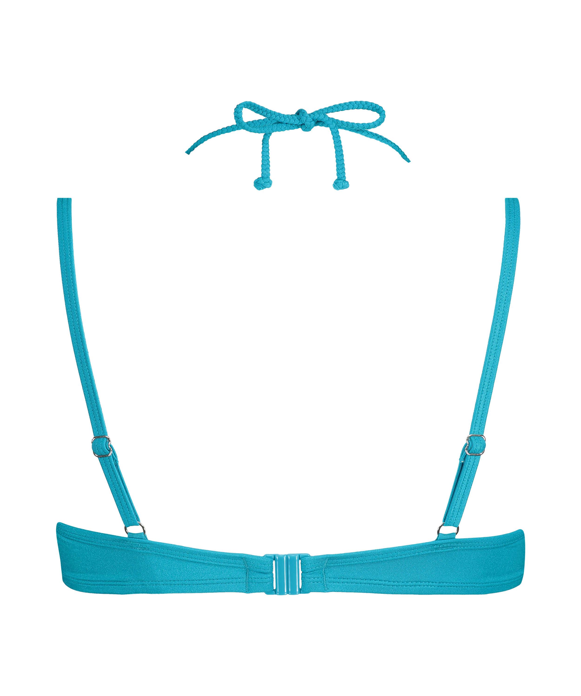 Celine polstret bikinitopp med spiler, Blå, main