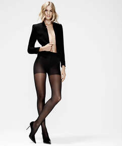 Topakning tights 30 denier, Svart