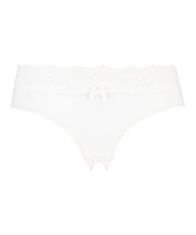 Dakota brasiliansk shorts, Hvit, main
