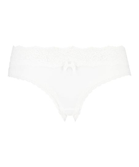 Dakota brasiliansk shorts, Hvit