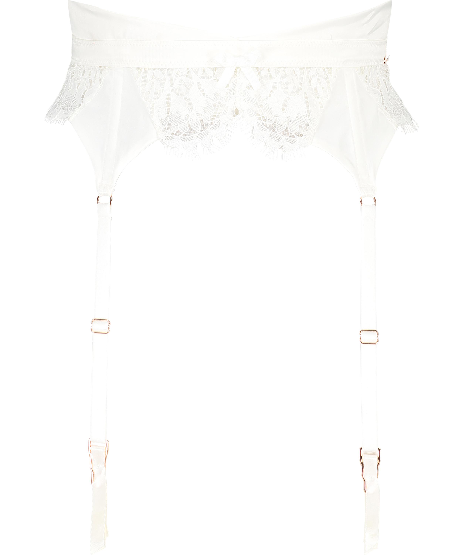 Hannako strømpeholder, Hvit, main