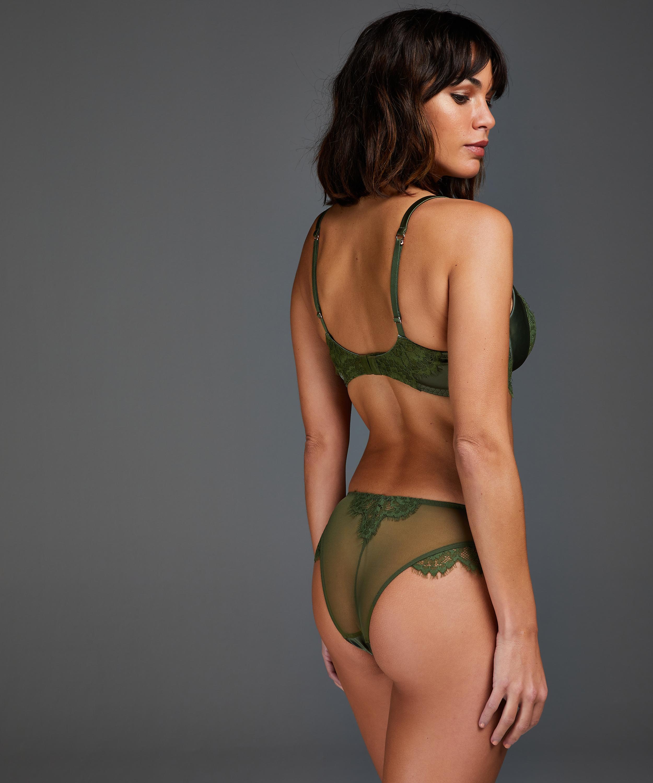 Hannako brasiliansk truse, Grønn, main