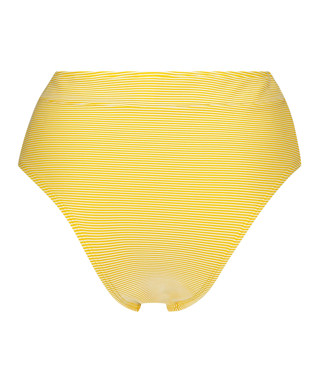 Carmel freidig høy bikiniunderdel, Gul, main