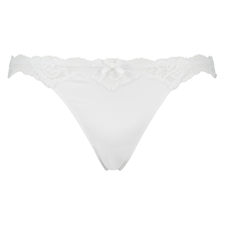 Secret Lace thong, Hvit, main