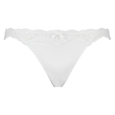 Secret Lace thong, Hvit