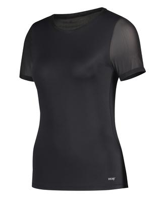 HKMX Open Back Sports Shirt, Svart