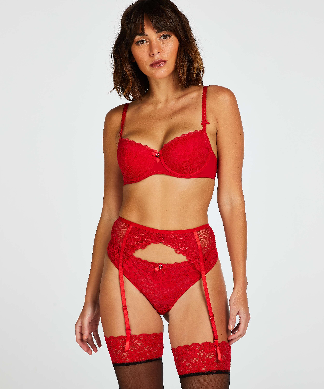 Strømpeholder, Rød, main