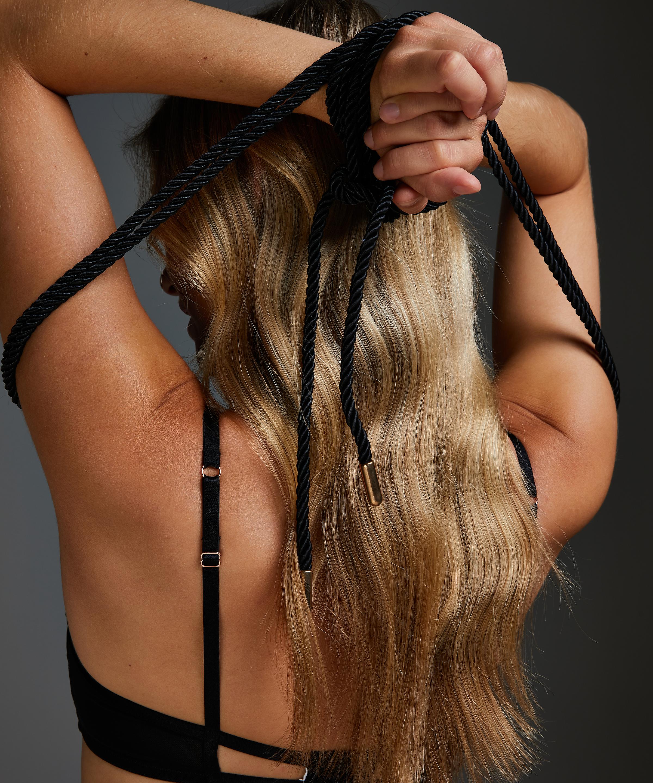 Body bondage-tau, Svart, main