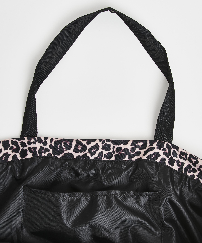 HKMX Leopard sportsbag, Svart, main
