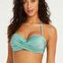 SoCal polstret bikinitopp med bøyler, Grønn