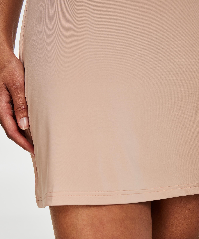 Glattende underkjole – Nivå 1, Beige, main