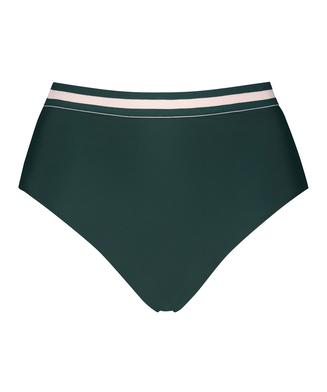 Pinewood høy og frekk bikiniunderdel, Grønn