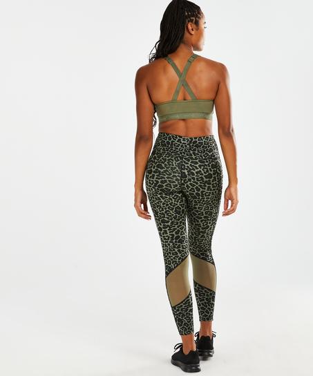 HKMX Oh My Squat tights med høy midje, Grønn