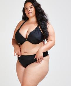 Sunset Dreams foret bikinitopp med bøyle, skål E og større, Svart
