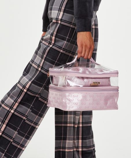 3 pack make-up bag, Rosa