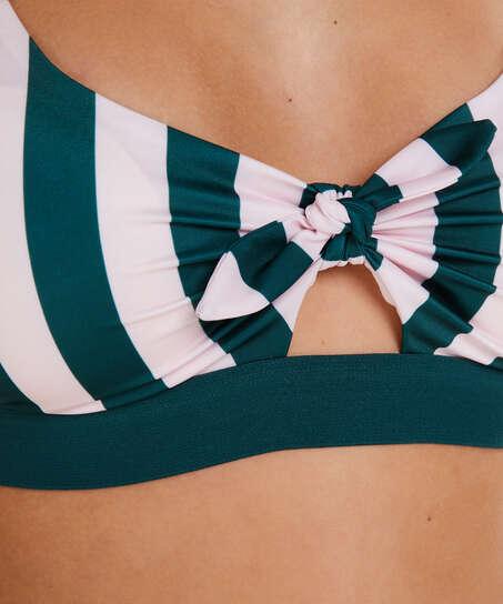 Santa Rosa Bikini Crop Top, Grønn