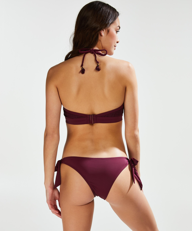 Frekk og lav Borneo mesh bikiniunderdel, Lilla, main