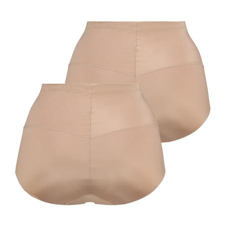 Topakning Smoothing formende truse – Nivå 1, Beige