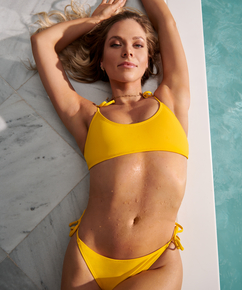 Napa bikini-croptopp, Gul