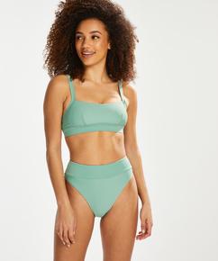 Sienna høy bikinibukse, Grønn